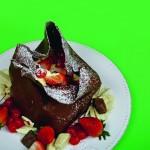 Torta Everest de frutas, un deleite para los sentidos