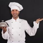 Hablando como todo un chef