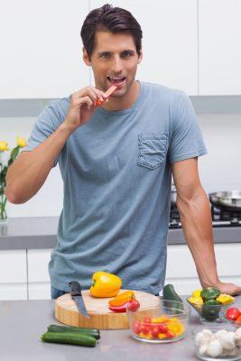 Verduras= Hombres sexys